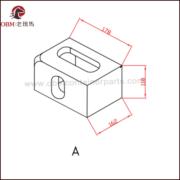 corner castings BL